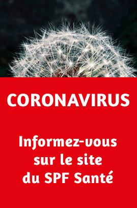 SPF Santé - Coronavirus